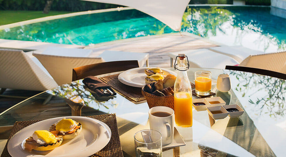 The Layar - In villa dining experience